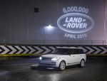 Der sechsmillionste Land Rover wirft ein besonderes Licht