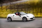 Alfa Romeo 4C jetzt auch als Spider