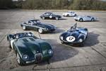 Rennserie mit historischen Jaguar startet