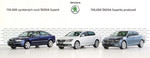 Skoda baut 750 000sten Superb