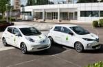Nissan und Renault shutteln den Klimagipfel