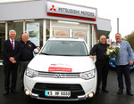 Mitsubishi Plug-in Hybrid Outlander als Fahrschulfahrzeug