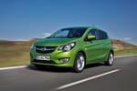 Pressepräsentation Opel Karl: Familienzuwachs