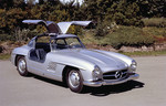 "Auktion von Coys of Kensington unter dem Motto ""True Greats"": Mercedes 300 SL."