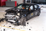 BMW 1er im Euro-NCAP-Crashtest.