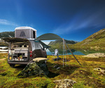 Camping mit dem Toyota Proace City Verso.