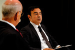 Carlos Ghosn und Dieter Zetsche (links).