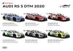 Die Audi-Teams 2020.