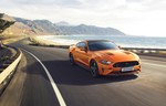 Ford Mustang GT in Twister-Orange.