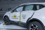 Honda CR-V im Euro-NCAP-Crashtest.