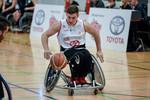 Im Toyota-Dress: Rollstuhlbasketballer der Köln 99ers.