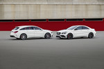 Mercedes-Benz CLA Shooting Brake und CLA Coupé.