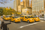 New Yorker Taxis: Nissan NV200.