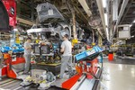 Nissan-Leaf-Produktion in Sunderland.