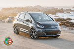 """North American Car of the Year 2017"": Chevrolet Bolt EV."