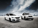 Peugeot 2008 Black Edition und Peugeot 308 Black Edition.