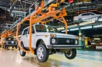 Produktion des Lada Niva Legend.