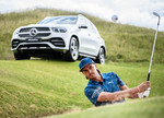 Rickie Fowler mit Mercedes-Benz GLE 350 d 4Matic.
