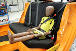 Smart-Kid-Belt vor dem ADAC-Crashtest.