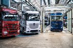 Start der Produktion des Mercedes-Benz Actros im Werk Wörth.