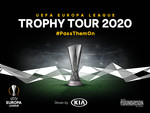 """UEFA Europa League Trophy Tour Driven by Kia""."