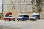Volkswagen California Ocean, Grand California 680 und Grand California 600.