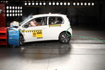 Volkswagen E-Up im ADAC-Crashtest.