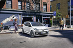 VW Up mit R-Line-Exterieur-Paket.