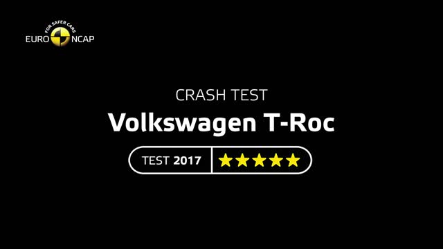 VW T-Roc im Euro-NCAP-Crashtest.